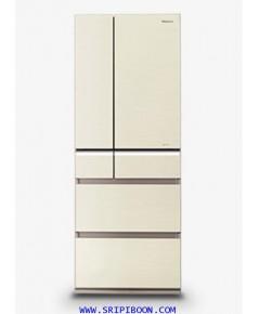 ตู้เย็น PANASONIC พานาโซนิค 6 ประตู NR-BX418VW ระบบ ECONAVI ขนาด 17.7 คิว บริการจัดส่งถึงบ้าน!.