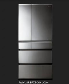 ตู้เย็น PANASONIC พานาโซนิค 6 ประตู NR-F681GT ระบบ ECONAVI ขนาด 17.7 คิว บริการจัดส่งถึงบ้าน!.
