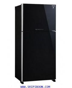 ตู้เย็น SHARP ชาร์ป 2 ประตู รุ่น SJ-X600GP-BK ขนาด 21.2 คิว บริการส่งถึงบ้าน!.
