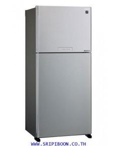 ตู้เย็น  SHARP ชาร์ป 2 ประตู SHARP SJ-X600TP-SL ขนาด 21.2 คิว INVERTER บริการส่งถึงบ้าน!.