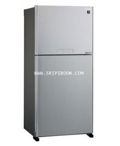 ตู้เย็น SHARP ชาร์ป รุ่น SJ-X550TP-SL  ขนาด 19.6 คิว บริการส่งถึงบ้าน!.