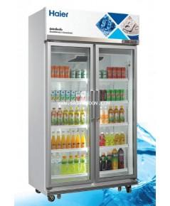 ตู้แช่เย็น HAIER ไฮเออร์ SC-1400PCS2-IVTV2 ระบบ Inverter ขนาด 23.8 คิว