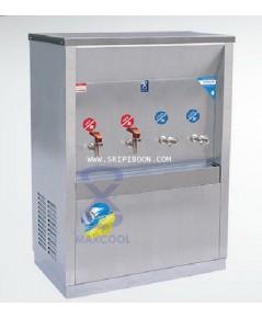 ตู้ทำน้ำเย็น-น้ำร้อน ต่อท่อประปา MAXCOOL แม็คคูล รุ่น MCH-4P(H2C2) เย็น 2 ก๊อก ร้อน 2 แบบแผงรังผึ้ง