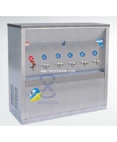 ตู้ทำน้ำเย็น-น้ำร้อน แบบ ต่อท่อประปา MAXCOOL แม็คคูล รุ่น MCH-6P (H1C5) ส่งถึงบ้าน!.โทร.02-805009