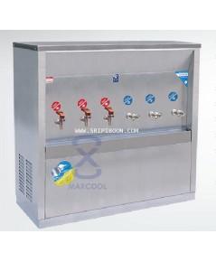 ตู้ทำน้ำเย็น-น้ำร้อน แบบ ต่อท่อประปา MAXCOOL แม็คคูล รุ่น MCH-6P (H3C3) ส่งถึงบ้าน!.โทร.02-805009