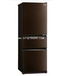 ตู้เย็น 3 ประตู MITSUBISHI มิตซูบิชิ MR-CX30EN ระบบ INVERTER ประหยัดไฟ 9.6 คิว บริการจัดส่งถึงบ้าน!.