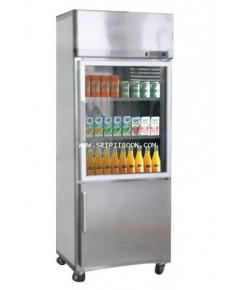 ตู้แช่เย็น + ตู้แช่แข็ง HAIER ไฮเออร์ SC-1100PCS2 - 19 คิว  บริการจัดส่งถึงบ้าน!.ฟรี