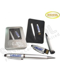 Flash Drive(16 GB) +ปากกา 3 in 1  นำเข้า รหัส A1808-20F
