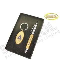 ชุด ที่ใส่ปากกา+พวงกุญแจ นำเข้า รหัส A1907-14I