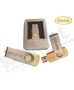 Flash Drive  ไม้ (16 GB)  นำเข้า รหัส A2043-14FA