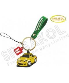 พวงกุญแจยางหยอด โลโก้ อีซูซุ เฮียบหงวน  รหัส A1943-15KR