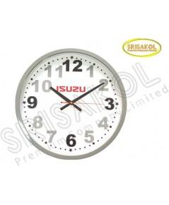 นาฬิกาแขวน 15 นิ้ว ขอบเล็กสีเทา รหัส A2045-6C