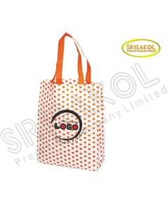 กระเป๋าช็อปปิ้งผ้าสปันบอนด์  คละสี รหัส A2002-15B