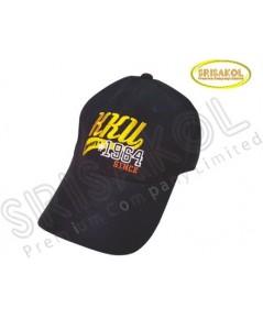 หมวก Cap 6 ชิ้น สีดำ ปีกแซนวิช  รหัส A2026-1H