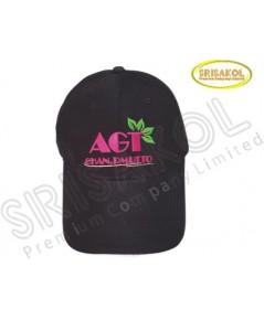 หมวก Cap 6 ชิ้น   สีดำ ปีกแซนวิช   รหัส A2026-23H