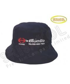 หมวก ทรงซาฟารี  สีดำ รหัส A2026-24H