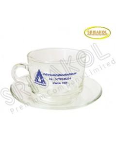 ชุดแก้วกาแฟ พร้อมจานรอง รหัส A2004-9GK