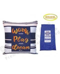 หมอนผ้าห่ม  2 in 1  ผ้าไมโคร+ผ้าร่ม  รหัส A2025-1J
