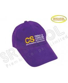 หมวก Cap 6 ชิ้น  สีม่วง รหัส A1917-6H