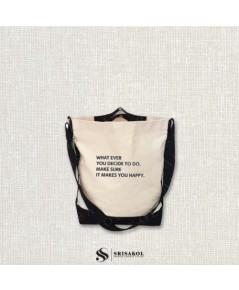 กระเป๋าผ้าแคนวาส รหัส A2130- 2B