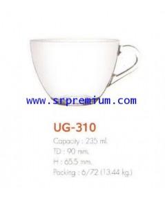 แก้วกาแฟ แก้วน้ำมีหู รุ่น UG-310