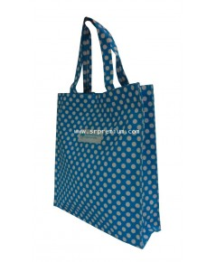 กระเป๋าชอปปิ้ง หนังพิมพ์ลายจุด รุ่น 06-0011