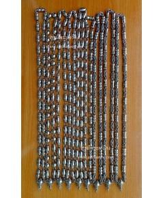 ขายสร้อยสแตนเลสเกรด A ห่วงรอบคอ (หัวขุน) ขนาดใหญ่ (ชุดเหมา 40 เส้น , คละแบบ) {ขายขาดทุน !!}