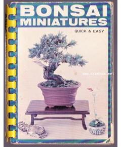Bonsai Miniatures Quick  Easy (คู่มือบอนไซภาษาอังกฤษ)