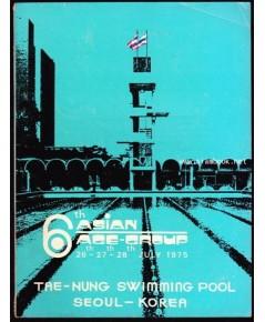 หนังสือหาทุนสนับสนุนนักกีฬาไปแข่งขันว่ายน้ำชิงชนะเลิศเยาวชนแห่งเอเชีย ครั้งที่6