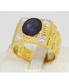 แหวนทองคำ 90 ฝังเพชร