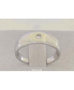 แหวนทองคำขาว 14K
