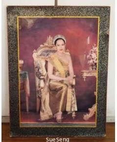 กรอบรูปพระราชินี รัชกาลที่ 9
