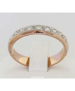 แหวนทองคำพิงค์โกลด์
