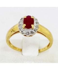 แหวนทับทิมเจียร