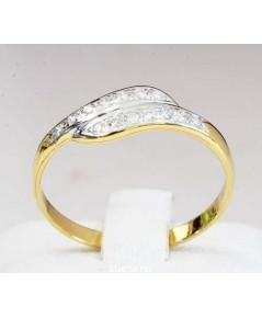 แหวนเพชรหญิง เพชร 14 เม็ด