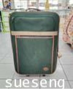 กระเป๋าเดินทางสีเขียว