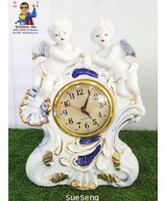 นาฬิกาตั้งโต๊ะ เนื้อกระเบื้อง