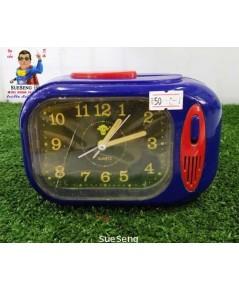 นาฬิกาปลุก สีน้ำเงิน