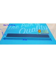 พลาสติกกั้นแบ่งสินค้าสำหรับชั้นวางสินค้า ขนาด 3x6x 35 cm.