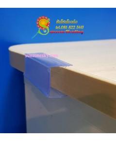 ป้ายพลาสติกใส่ราคาสำหรับชั้นไม้ เหล็ก ขนาด 2.5 x 8 cm.