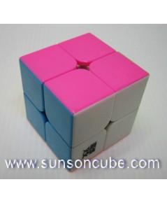 2x2x2 Moyu LingPo - ฺBody color ( Pink )