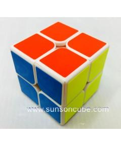 2x2x2 Moyu WeiPo  - White