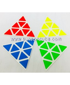 Sticker for Pyraminx   ( Z - Bright )