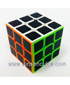 3x3x3  HuanSu / Body color with Black carbon sticker