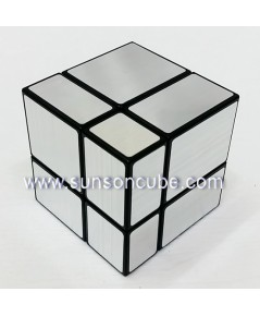 Mirrow Block 2x2x2 - SS  / Black-Silver