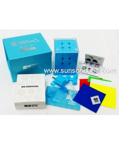 3x3x3 Moyu Weilong GTS3 - M  / Blue ( Limited edition )