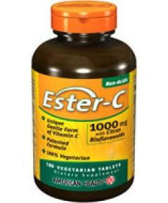 เอสเตอร์ซี Ester-c 1000 มก.180เม็ด  วิตามินซีธรรมชาติ วิตามินซีอันดับ1ที่เภสัชกรในอเมริกาแนะนำ