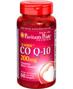 Puritan's pride[usa] co q10 200 mg.60 softgels