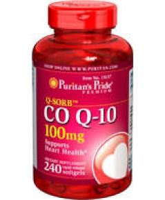 puritan,co q 10 100 mg.240 softgels softgels คิวเทน พูริแทน ช่วยบำรุงหัวใจ ลดริ้วรอย