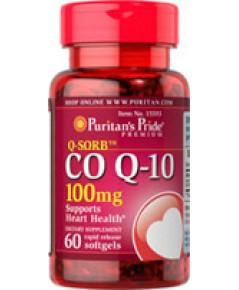 Puritan\'s Pride  Co Q-10 100 mg.60 Softgels คิวเท็น